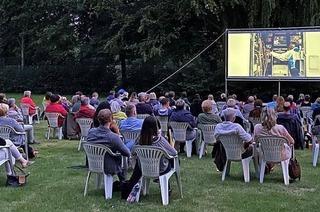 Open Air Kino im Waldschwimmbad