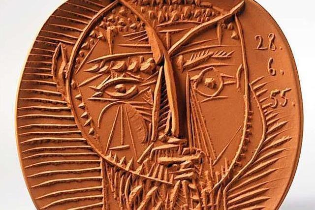 Im Staufener Keramikmuseum gibt's ein Picasso-Relief zu sehen