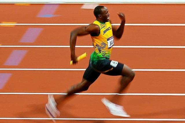 Wie schnell kann ein Mensch maximal laufen?