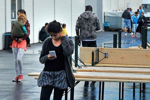 Start der Freiburger Aufnahmestelle für Flüchtlinge verlief chaotisch