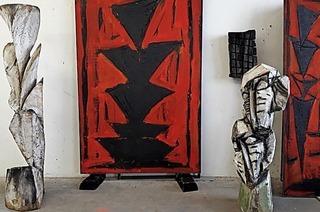 Karl Manfred Rennertz stellt in der Kunsthalle Altdorf aus