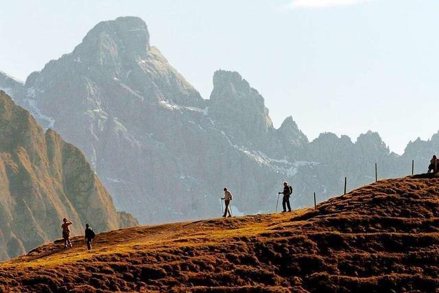 Worauf Bergwanderer im Spätsommer und Herbst achten sollten