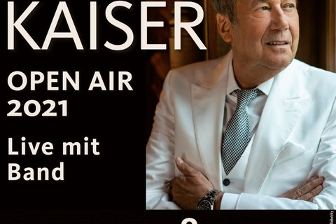 ROLAND KAISER - Open-Air - Live mit Band - Bad Kissingen - 20.08.2021 20:00