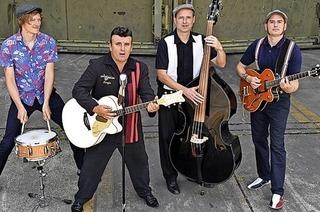 Les Chambords spielen Hits der 50er und 60er Jahre im Tanzbock