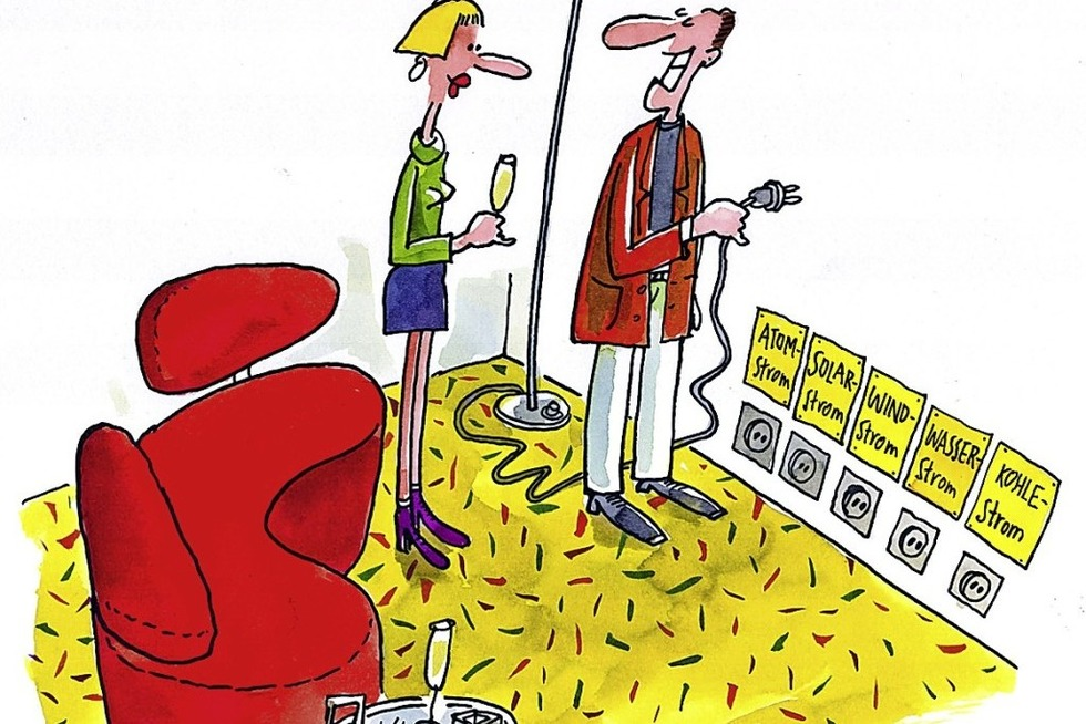 Dar Karikaturist Erich Rauschenbach spricht im Hotel Liberty über das Komische - Badische Zeitung TICKET