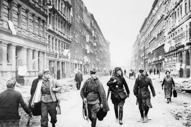Herbert Leser aus Lahr floh vor der Roten Armee aus dem zerbombten Berlin
