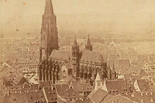 Vor mehr als 165 Jahren entstand das älteste erhaltene Münster-Foto