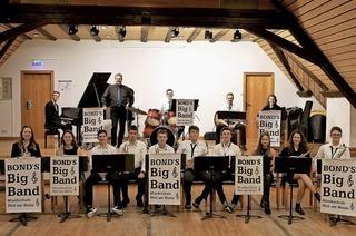 Bond's Big Band beim Lions Club in Schliengen
