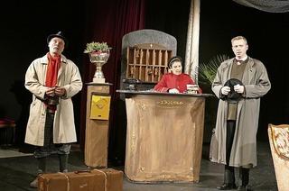 """Das Theater am Kastelberg zeigt Erich Kästners Klassiker """"Drei Männer im Schnee"""""""
