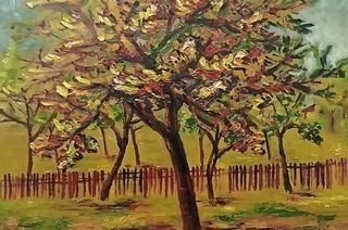 Die Galerie Messmer zeigt Herbstlandschaften von Evard