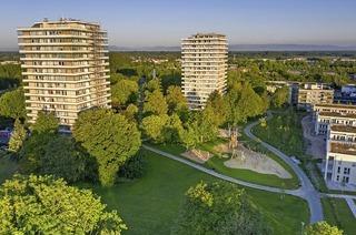 Der Kleinfeldpark ist Thema einer Führung im Rahmen der Architekturtage Oberrhein