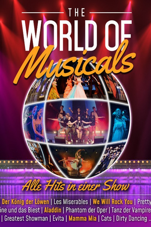 THE WORLD OF MUSICALS - The Very Best of Musicals - Saarbrücken - 06.01.2022 19:30