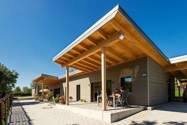 In Ewattingen gibt es Mini-Häuser für Senioren