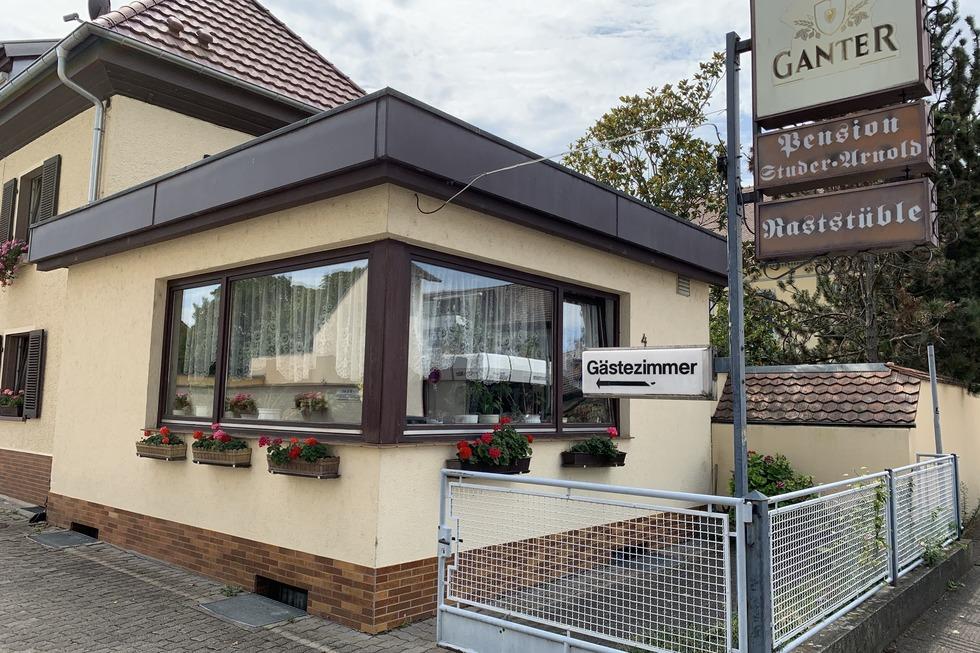 Raststüble - Pension Arnold - Neuenburg am Rhein