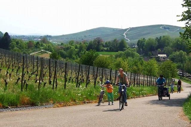 Rund um den Schönberg zu Grillstelle, Spielplatz und Steinzeithöhlen
