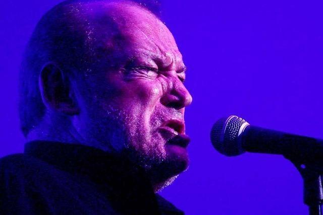 Nicht Zeitgeist, sondern Urschrei: Joe Cocker im April 2005