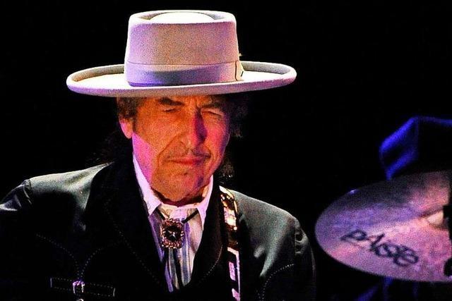 Der singende Dichter: Bob Dylan im November 2003