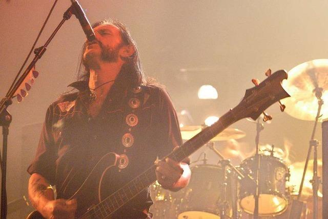 Der Rock in seiner Ur- und Rohform: Motörhead im Dezember 2003