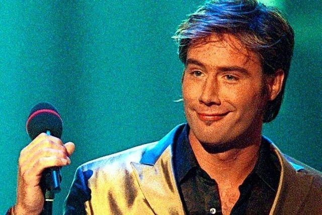 Ein Teenie-Star, der gar keiner sein will: Sasha im März 2002