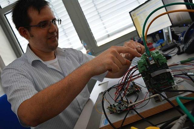 Ingenieure von Mesco tüfteln in Lörrach an Prozessautomation