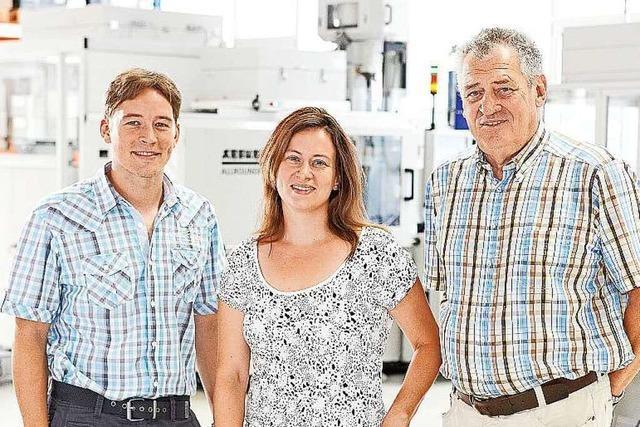 Firma Pfaff in Kollnau produziert im Spritzgießverfahren Kunststoffteile