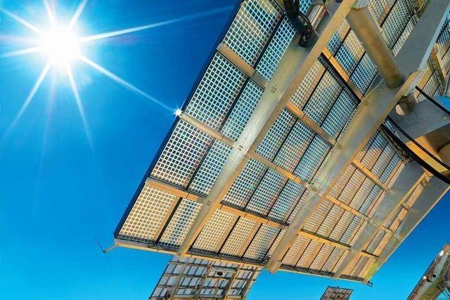 Soitec in Freiburg baut Solarkraftwerke mit hohem Wirkungsgrad