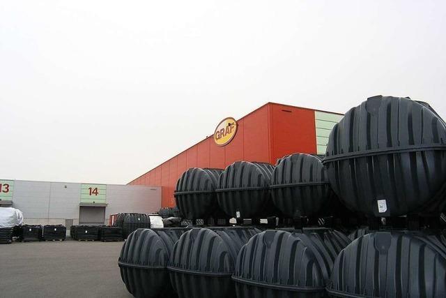 Die Produkte der Teninger Firma Graf helfen, Regen clever zu nutzen