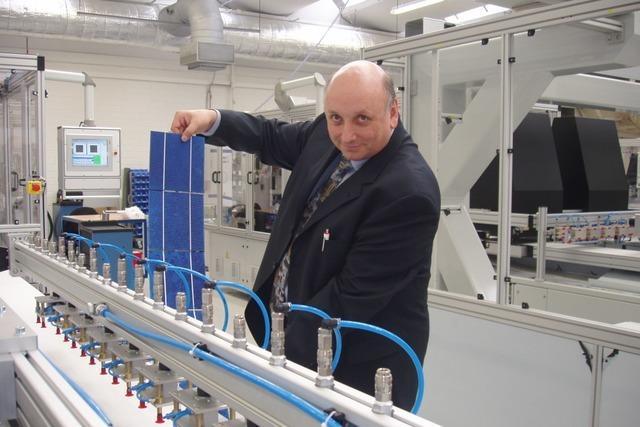 Maschinen aus Freiburg für die Solarfabriken der Welt