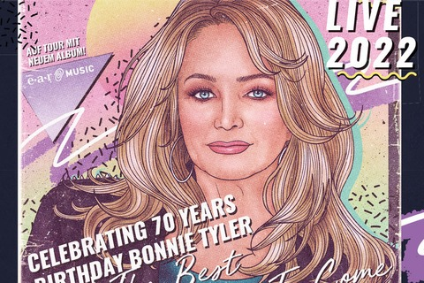 "Bonnie Tyler live 2022 - Celebrating 70 Years Birthday Bonnie Tyler - ""The Best Is Yet To Come"" - Augsburg - 29.04.2022 20:00"