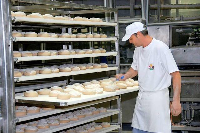 Großbäckerei K & U versorgt Baden mit Brot und Brötchen