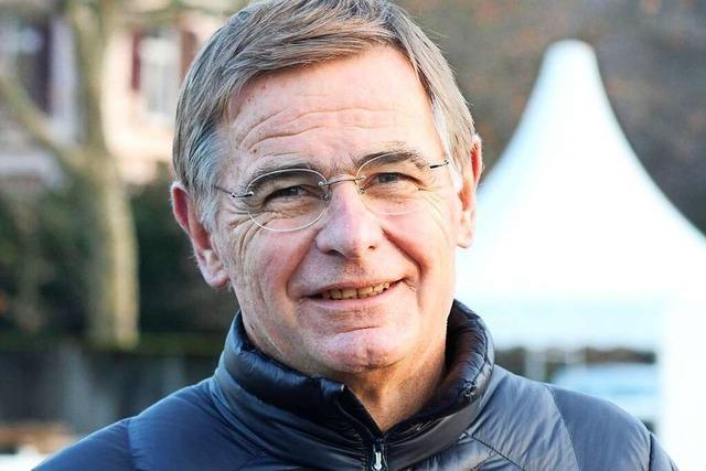 Richard Pottstock war schon im Ruhestand, jetzt leitet er das Corona-Testzentrum