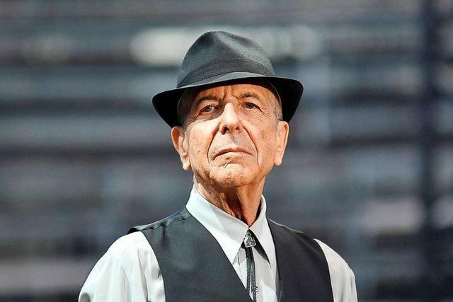 Die Eleganz der Melancholie – zum Tod vom Leonard Cohen