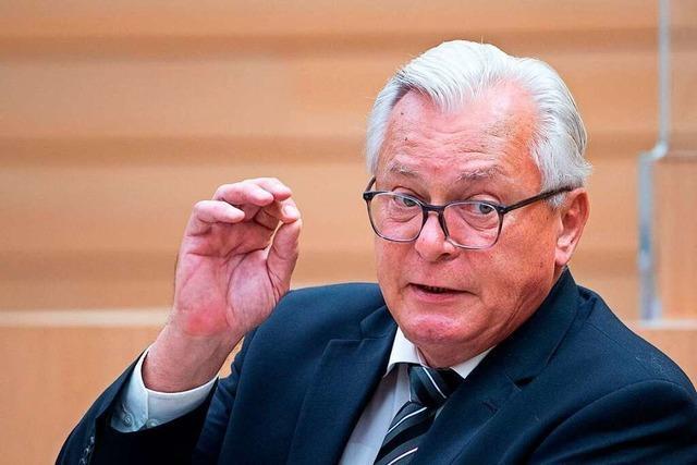 Baden-Württemberg wählt: Bernd Gögel von der AfD im BZ-Talk