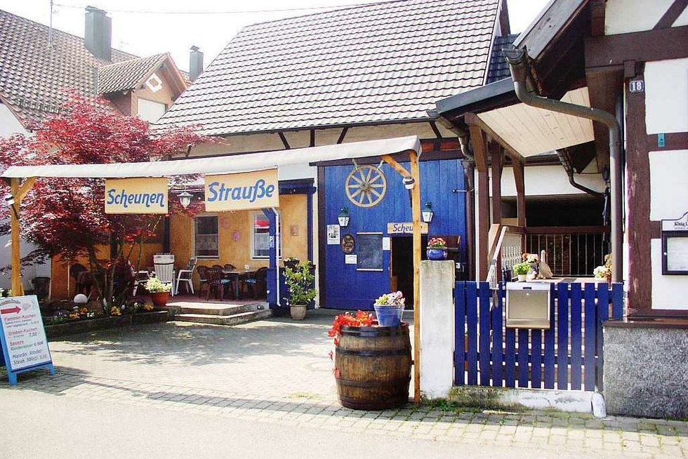 Scheunen-Strauße (Kürzell) - Meißenheim