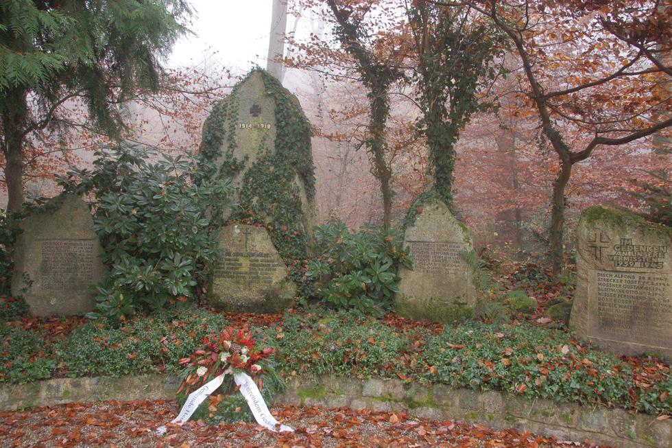 Kriegerdenkmal im Kirchenwald - Heuweiler