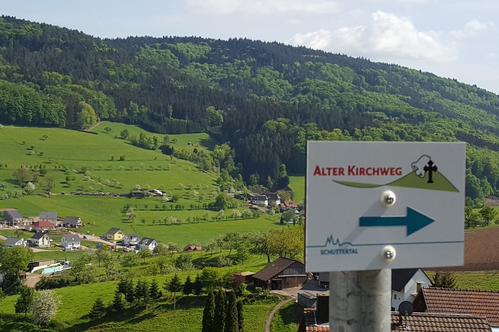 Alter Kirchweg (Dörlinbach) - Schuttertal
