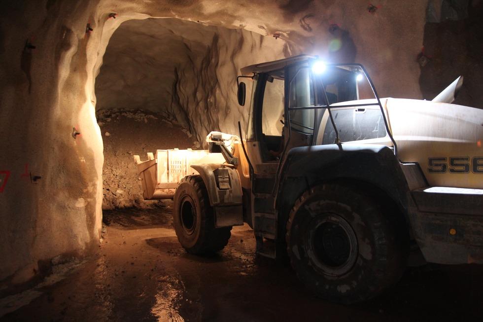 Mineralienhalde Grube Clara - Wolfach