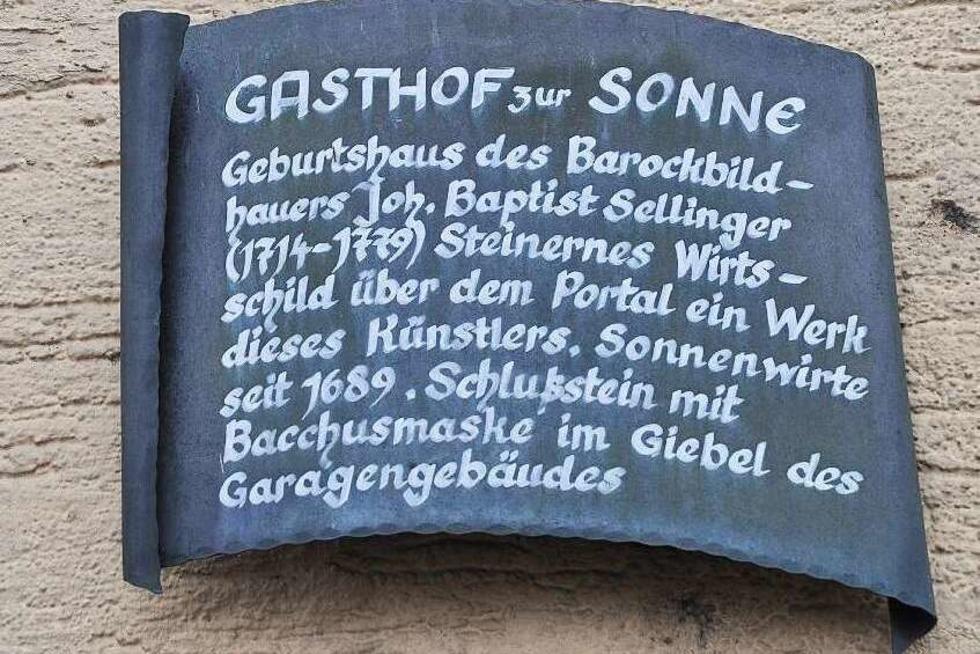 Gasthaus Sonne (geschlossen) - Merdingen