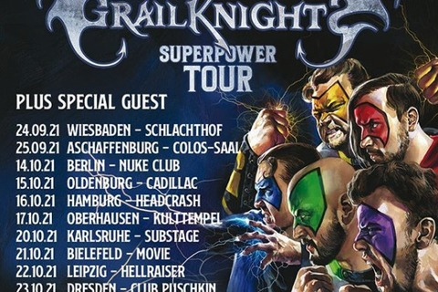 GRAILKNIGHTS - SUPERPOWER TOUR 2022 - Wiesbaden - 04.04.2022 19:00
