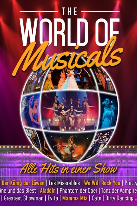 THE WORLD OF MUSICALS - The Very Best of Musicals - Potsdam - 10.02.2023 20:00