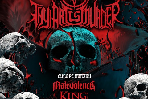 THY ART IS MURDER - EU/UK TOUR 2022 Special Guests: MALEVOLENCE / KING 810 / JUSTICE FOR THE DAMNED / ALLUVIAL - Wiesbaden - 08.12.2022 17:50